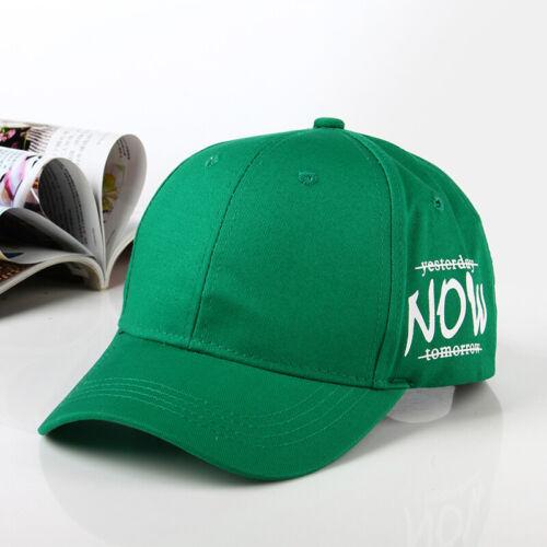 baseball cap hat Embroidery Now Baseball cap for girl men snapback sports hat