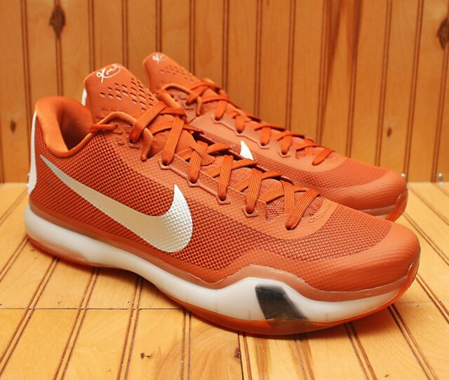 2015 Nike Kobe X 10 Texas Longhorns