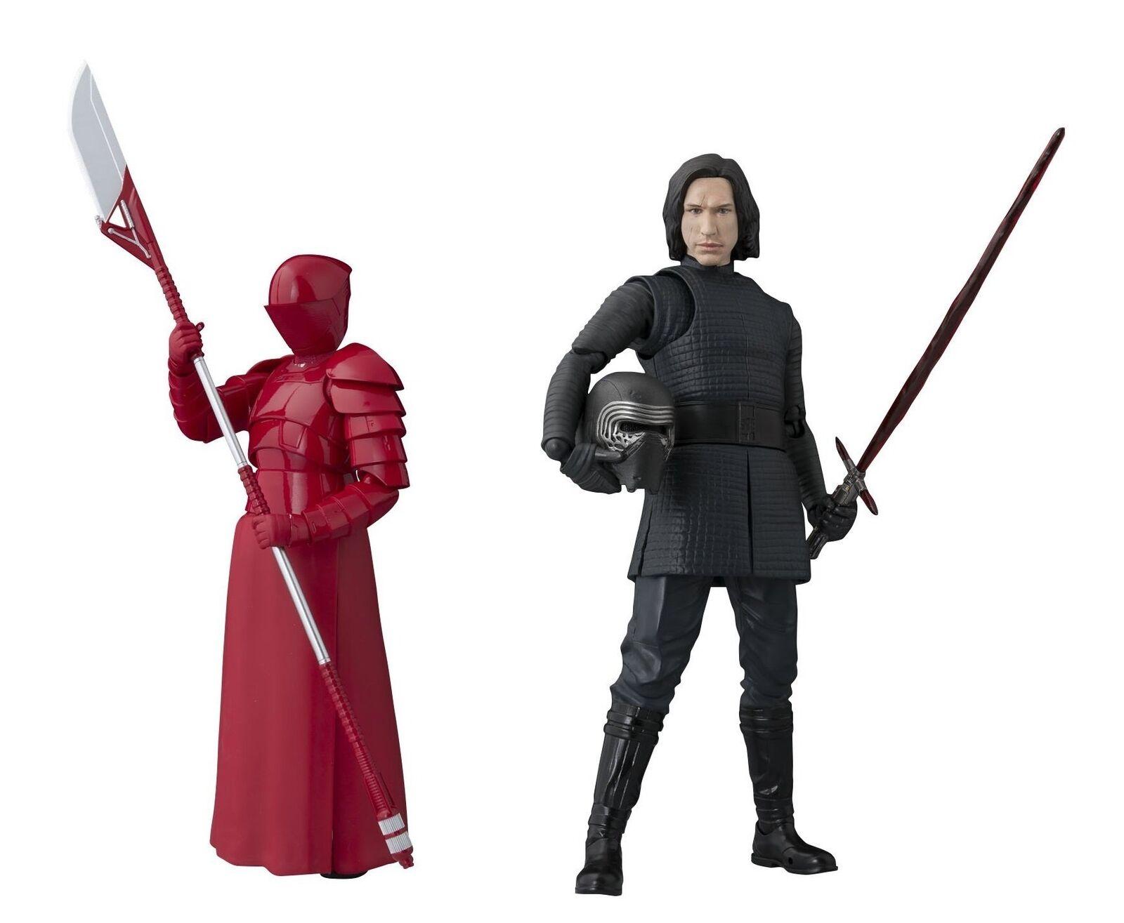 S.H.Figuarts Estrella Guerras The The The Last Jedi KYLO REN & ELITE PRAETORIAN GUARD & BB-8 43837e