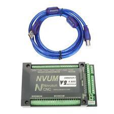 4 Usb Mach3 Motion Control Card 200khz Cnc Interface Breakout Board Nvum