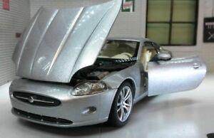 Jaguar-Xk-Coupe-Verde-Welly-1-24-Escala-Detallado-Interior-Modelo-Coche-22470