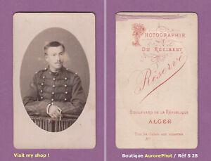 CDV-RESERVE-a-ALGER-MILITAIRE-DU-16eme-REGIMENT-D-039-ARTILLERIE-VERS-1890-S28