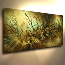 Modern Abstract Art CONTEMPORARY M.Lang Painting Mounted Giclee Canvas Print