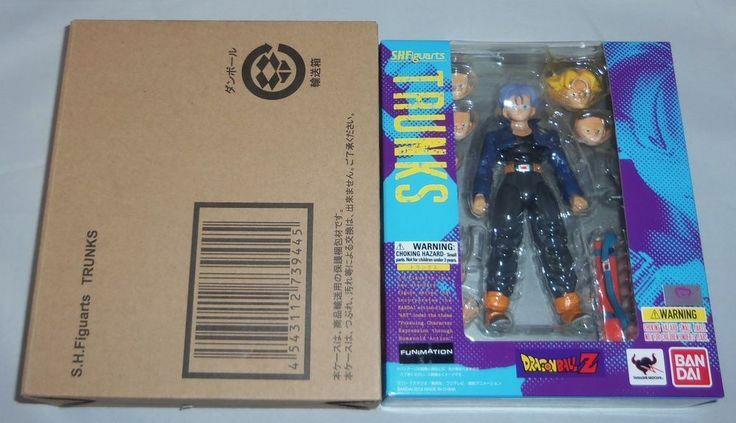 Bandai dragon ball ball ball figuarts trunks ss super saiyan action figure original 1223a0