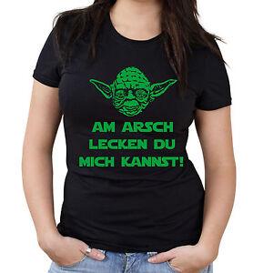 Yoda-Spruch-Girlie-Shirt-Star-Wars-lustige-Darth-Fun-Am-Arsch