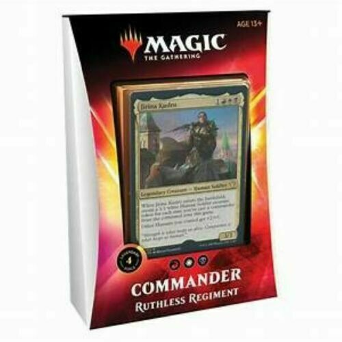 Ikoria Lair of Behemoths Ruthless Regiment MTG COMMANDER DECK 2020 Magic