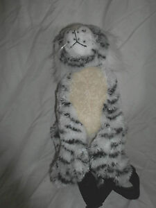 12-034-BJ-Toys-Rare-White-Tiger-Zippered-Backpack-Plush-Soft-Toy-Stuffed-Animal
