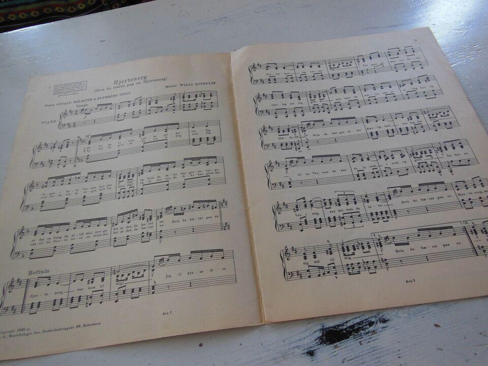 Sangene fra Osvald Helmuth filmen, Der var engang en