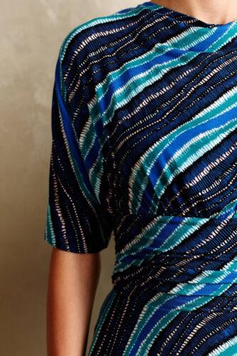 XS NW ANTHROPOLOGIE Ta Plenty Tracy Reese Drapey Wintertide Dress Sz XXS Petite
