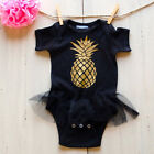 0-24M Newborn Girls Baby Dress Romper Skirt Dress Tutu Jumpsuit Bodysuit Outfits