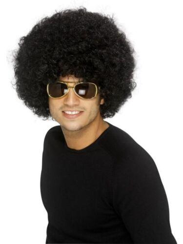 Smi Funky Afro Perücke in Schwarz