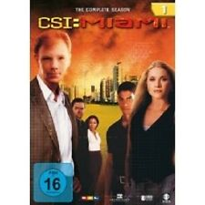 "CSI MIAMI ""SEASON 1"" 6 DVD SET TV SERIE NEU"