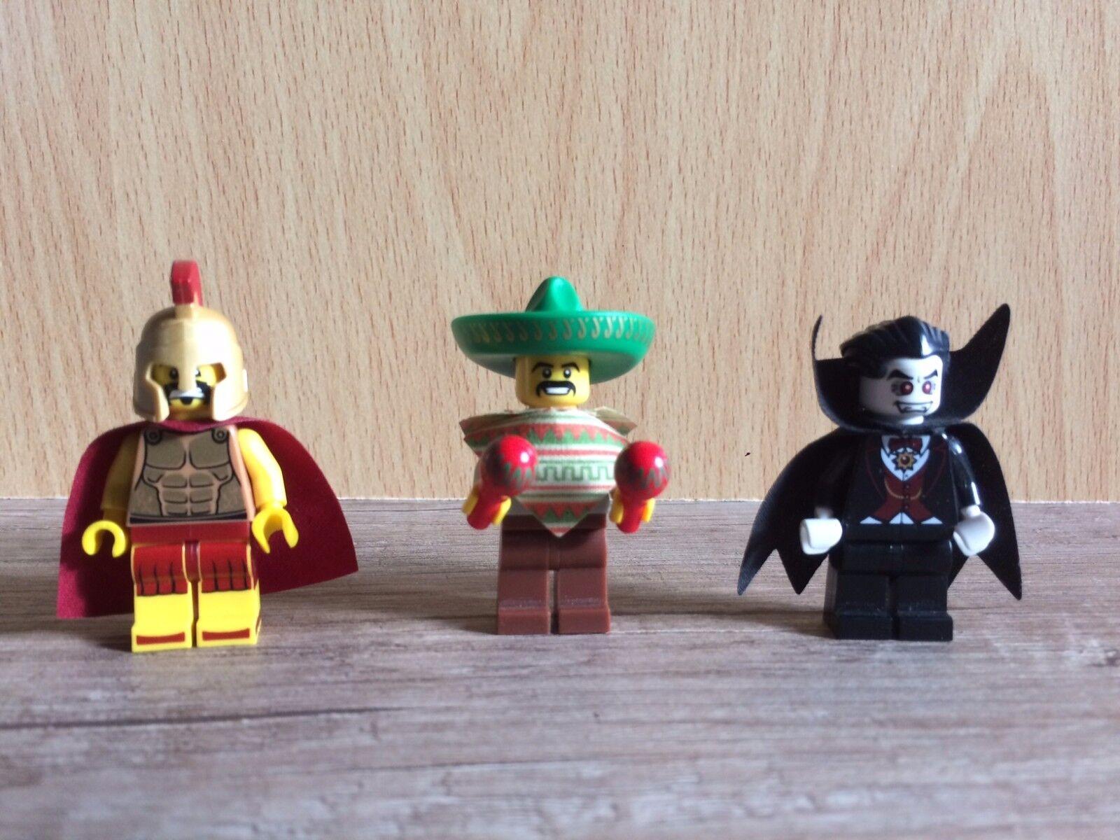 Lego 8684 Minifigur Vampir Mexikaner Spartaner Serie Figur 2