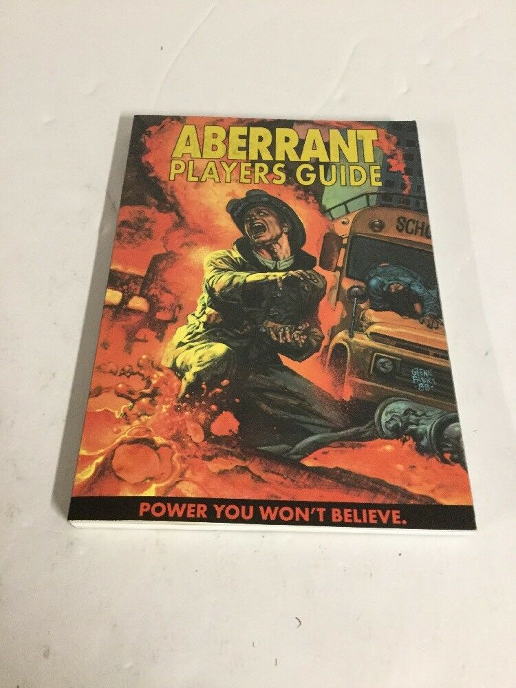 Aberrant Players Guild Role-Playing Game RPG bianca Wolf ww8505
