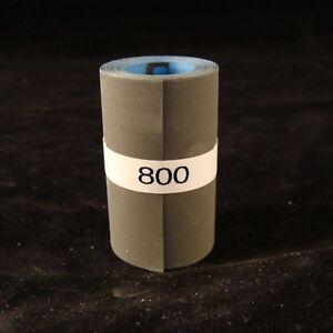 """000330 220 Grit Klingspor Sanding Rolls 2/""""x10/' Cue Repair"""