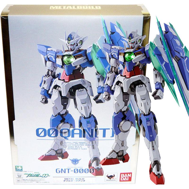 Beai Tamashii Metal Build Gundam 00 GNT-0000  00 Qan[T] azione cifra  prezzo basso