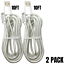 miniature 11 - 10FT Braided Micro USB Charger Cable Data Sync Charger Cord Android Samsung LG