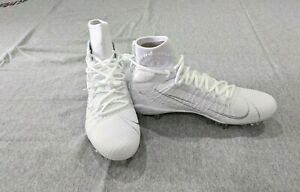Nike Alpha Huarache 7 Elite LAX White Lacrosse Cleats