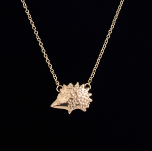 UK Seller NEW Beautiful Gold or Silver Tone Hedgehog Necklace