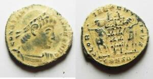 aa9264 Desert Patina Easy To Repair Constantine I The Great Ae 3 Zurqieh