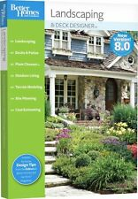 Better Homes Gardens Landscaping And Deck Designer 8.0 8 PC New In Box Part 49