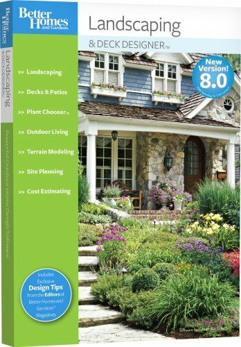 Chief Architect Better Homes and Gardens Landscaping and Deck ...