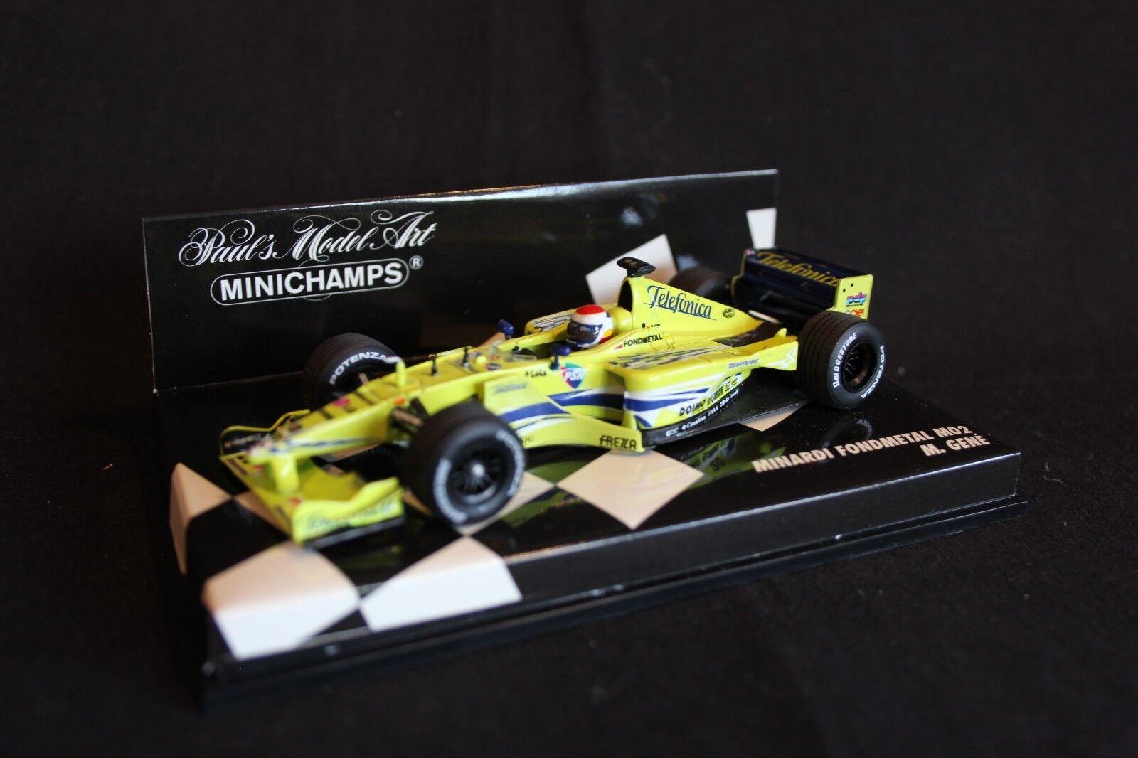 Minichamps Minardi Fondmetal M02 2000 1 43  20 Marc Gené (ESP)