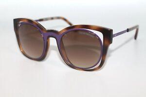 Emporio-Armani-Womens-Sunglasses-EA4091-5026-13-Havana-amp-Purple-W-Brown-Lens