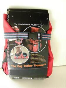 ABO-GEAR-Dog-Tucker-Traveler-Travel-Fabric-Fold-Kit-Food-Bag-and-Bowls-NEW-NWT