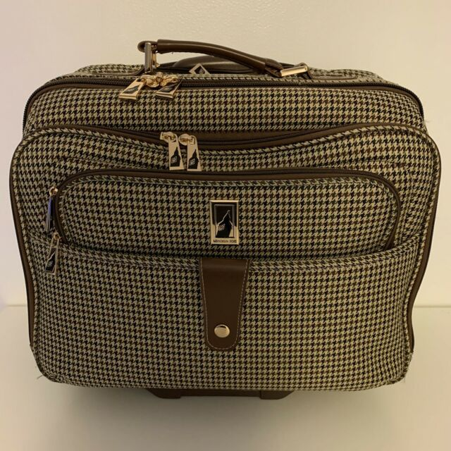 Rolling Laptop Bag Tote London Fog Luggage Suitcase Chelsea Wheels Teacher Air For Sale Online Ebay
