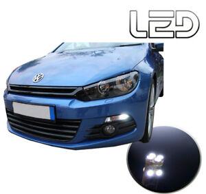 SCIROCCO-2-Ampoules-LED-Blanc-Veilleuses-Feux-position-Resistances-Anti-erreur