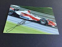 JARNO TRULLI Formel 1 original signed Foto 10x15 Autogramm