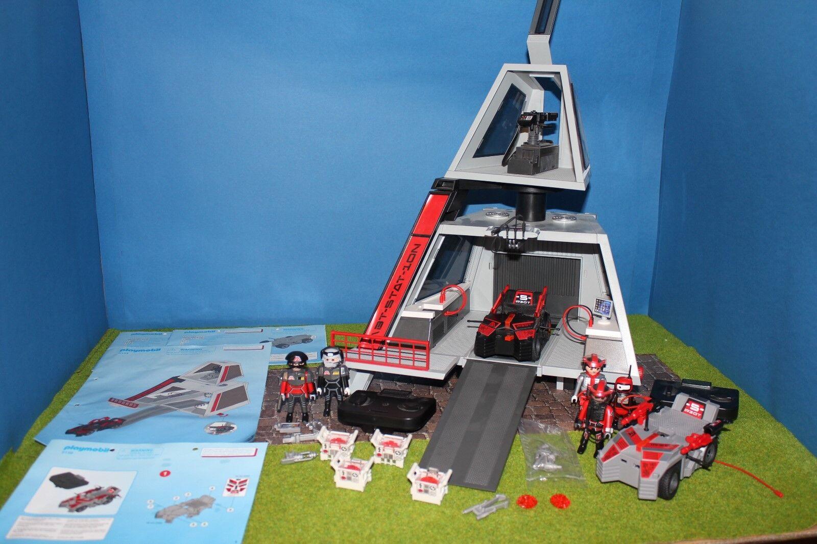 Playmobil Future Planet Ottime  Condizioni 5153 5156  economico in alta qualità