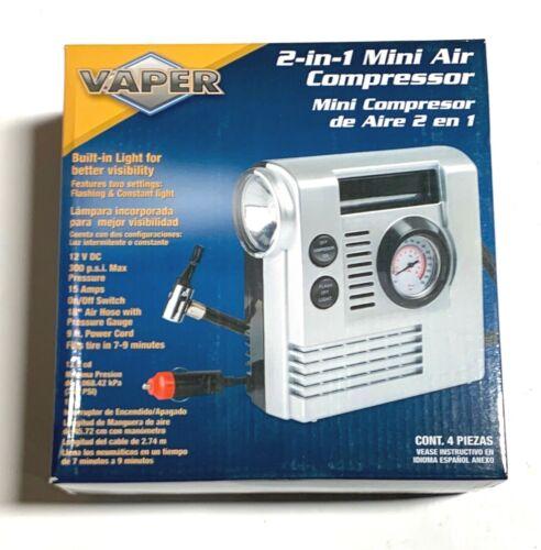 Titan Tools 2-in-1 Mini Air Compressor Tire Ball Mattress Inflation 55202