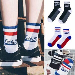 Fashion-Harajuku-Cotton-Letters-Stripe-Skateboard-Unisex-Couple-Sport-Socks-Cool