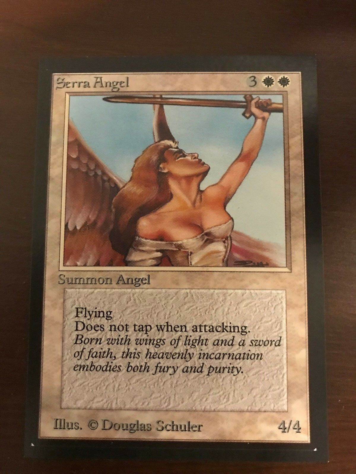 Mint serra engel beta - collector 's edition magic the gathering mtg ce - 93   94