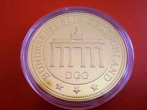 2019 Mode *münze/medaille Vergoldet Pp *brandenburger Tor Jahre Lang StöRungsfreien Service GewäHrleisten