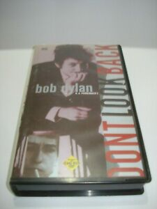 BOB-DYLAN-DONT-LOOK-BACK-VHS-VIDEO-TAPE-PAL-FREE-POSTAGE