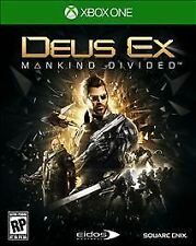 Deus Ex: Mankind Divided -- Day One Edition  Microsoft Xbox One *FACTORY SEALED*