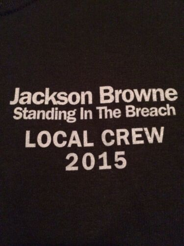 Jackson Browne Local Crew limited edition T-shirt Brand New/Never Worn