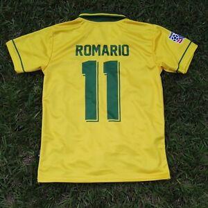 Image is loading Brasil-Men-039-s-Retro-Soccer-Jersey-WC- 856f491bf