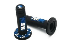 Punos-Manillar-de-Moto-Pro-Taper-7-8-039-Universal-Quad-ATV-Cross-22mm-Azul
