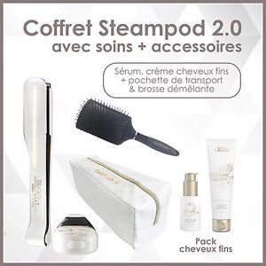 L-039-OREAL-PACK-STEAMPOD-2-0-SERUM-amp-CREME-CHEVEUX-FINS-TROUSSE-BROSSE