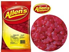 1 x Allens Frogs Alive Red 1.3 kg Lollies Bulk Party Favours Sweets Party Candy