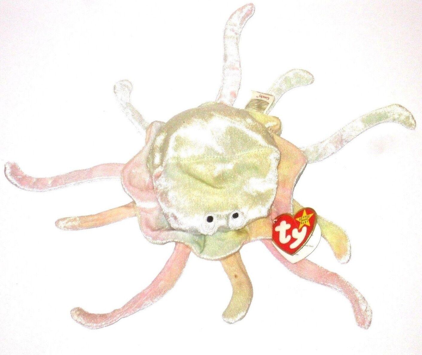 Ty Beanie Babies Original Goochy P E Pellets 1998 1999 Retired Jellyfish Errors