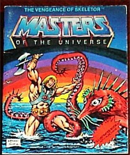 HE-MAN MOTU MINI COMIC VENGEANCE OF SKELETOR VF PROMO