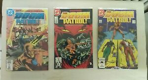 The-Doom-Patrol-issues-1-2-3-DC-1987