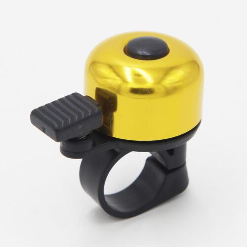 1X Ultra Loud Bike Bicycle Bells Ring Alarm Horn for 0.85-0.97inch Handlebar New