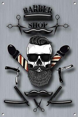 Barber Shop Metal Sign Barber Shop Décor Sign Wall Art Plaques Barber Shop 1082