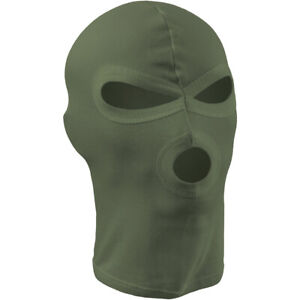 Mfh 3 Hole Lightweight Balaclava Motorcycle Bike Ski Mask Army Style Od Green 4044633055057 Ebay